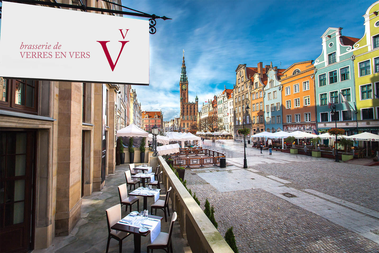 Hotel Brasserie Verres En Vers Restauracja Francuska Gdańsk
